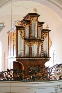 Orgelska omara v Velesovem