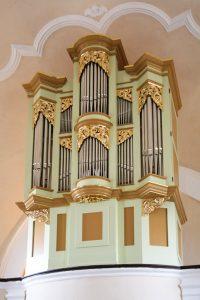 Orgelska omara Trata